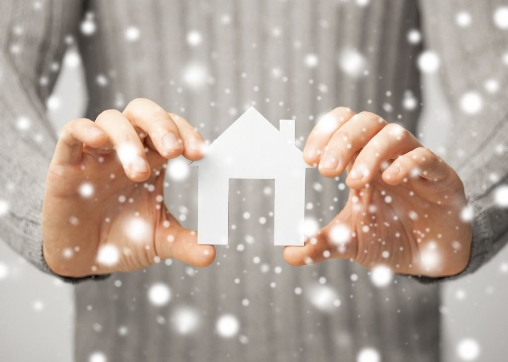 Buying  real estate in the winter